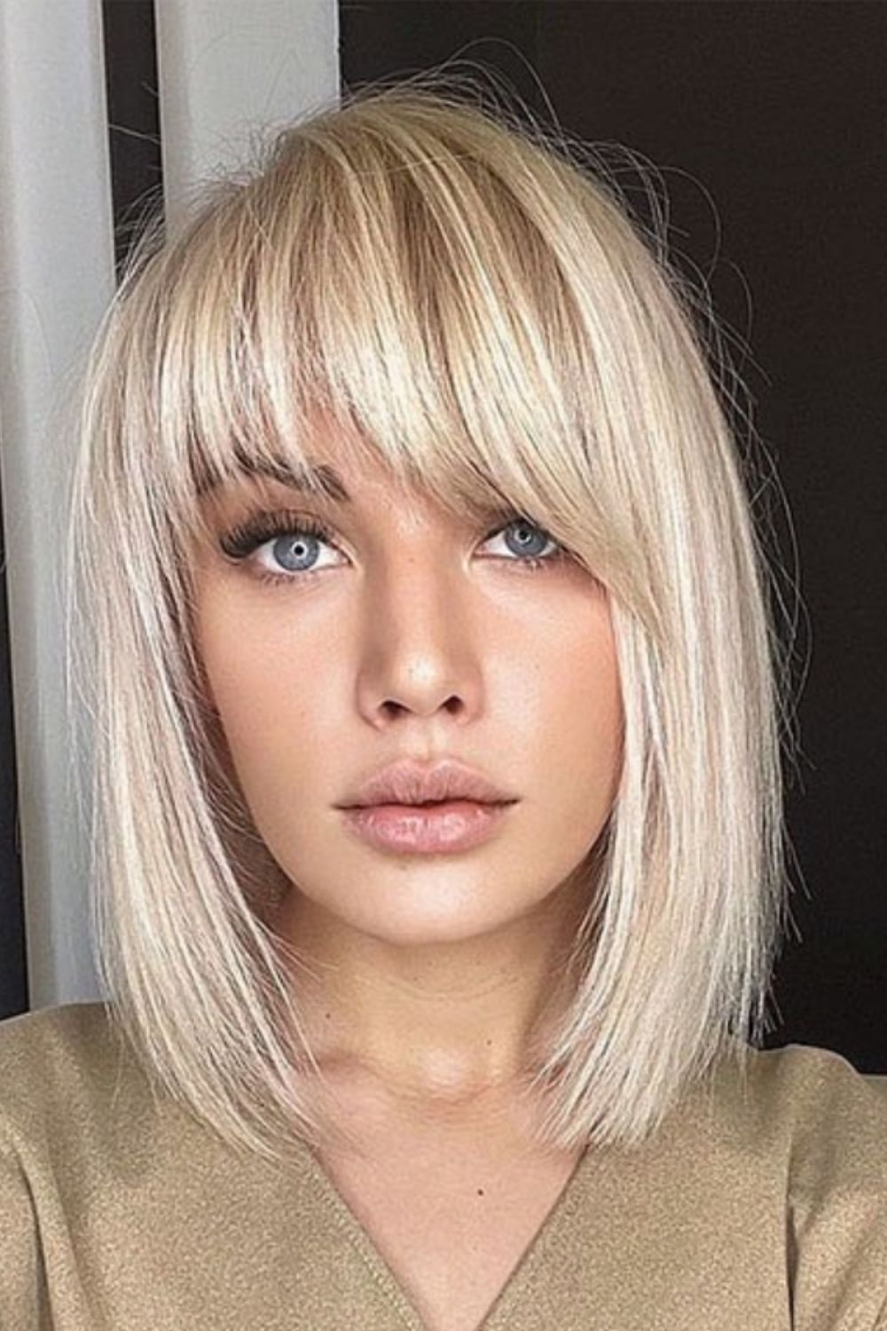 How to style bob hair with bangs 2021?
