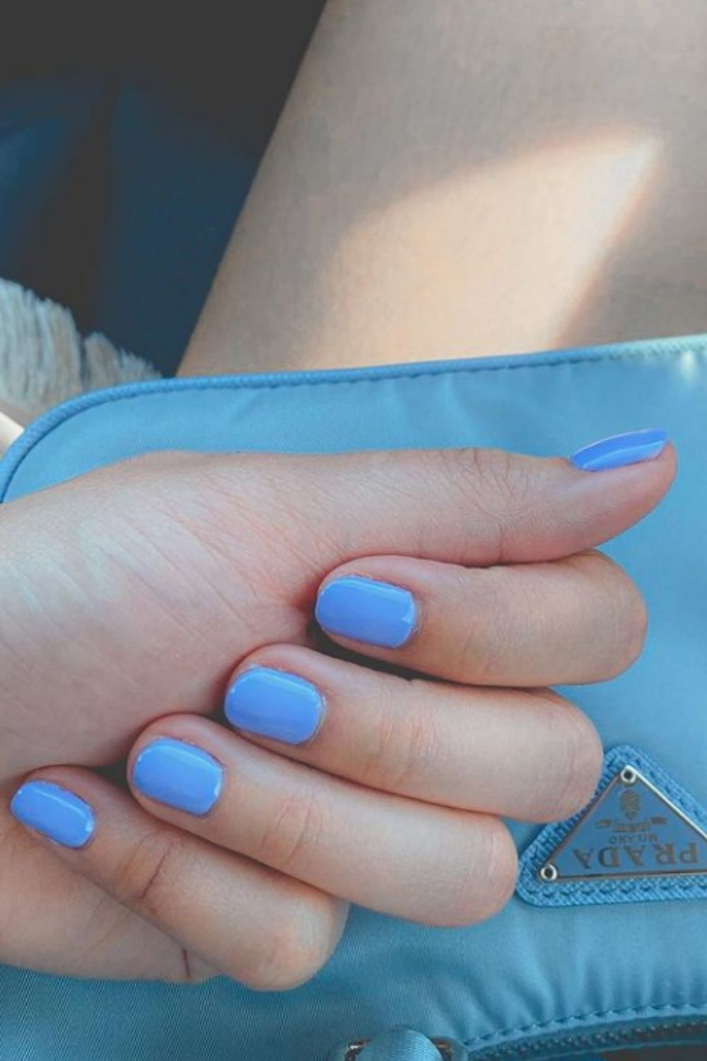 Pretty blue sky nails designs and ideas for your summer nails 2021