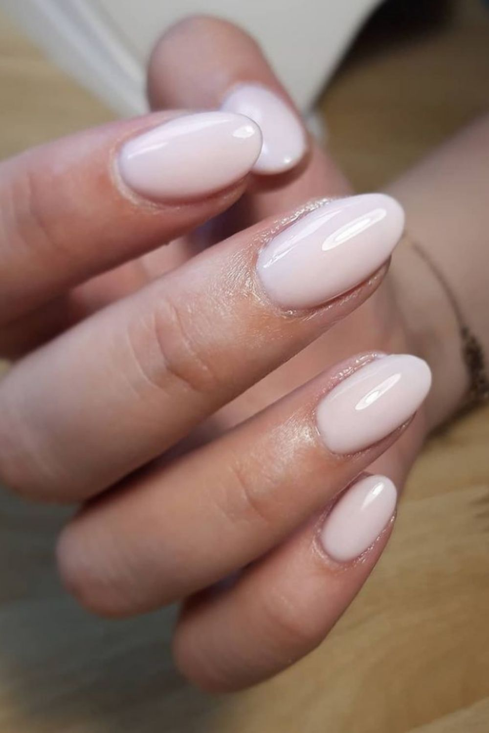 Best nude pink nails you will like as your summer nails.