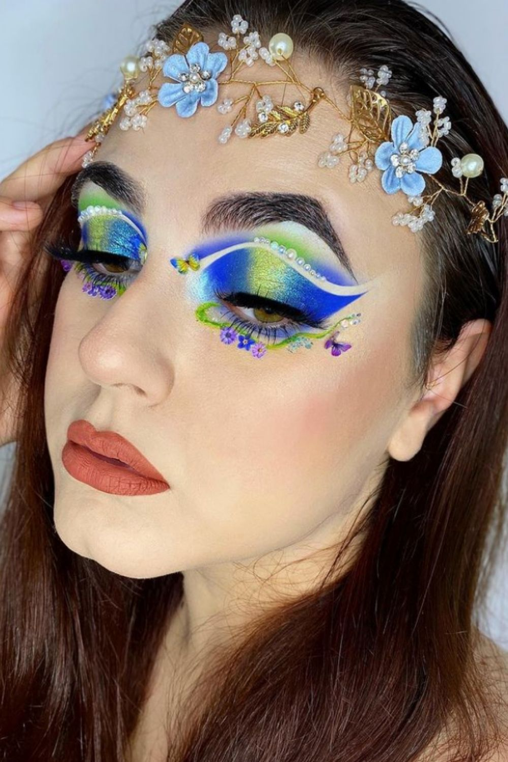 35 Gorgeous butterfly makeup to mark up