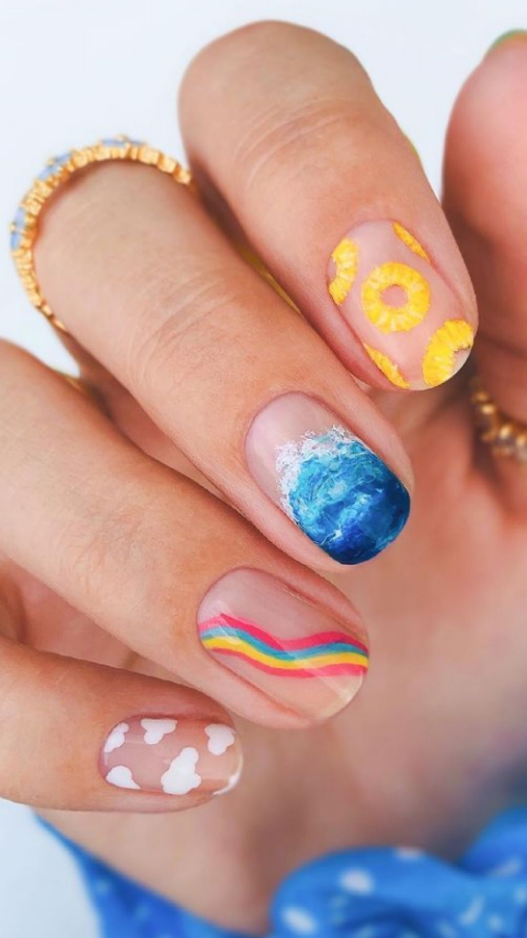Back to school nails   Best summer nail art ideas and nail designs 2021