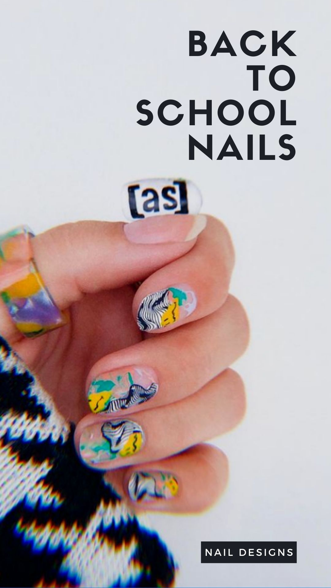 Back to school nails | Best summer nail art ideas and nail designs 2021