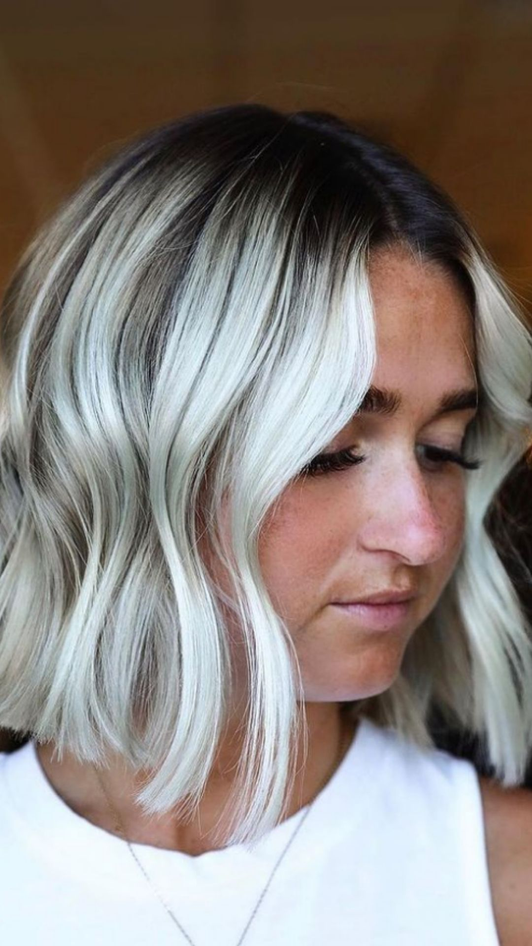 Silver ombre hair   The hottest hair color for long hairstyles